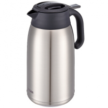 虎牌(tiger)保温壶热水壶保温瓶热水瓶便携商务会议旅行壶PWM-A20C 2L 不锈钢色XC