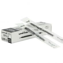 日本三菱(Uni)UMR-5中性笔芯(适用于UM-100笔)黑色0.5mm12支装原装进口