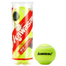 办公用品 川崎(KAWASAKI) 网球 3只装