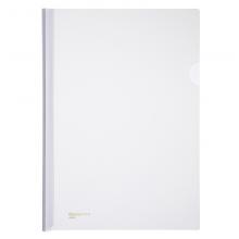 齐心 A858-x 大容量加厚抽杆式报告夹 A4 80张 透明