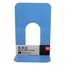 得力 9270 铁书立 212mm 2片/付 (单位:付) 蓝