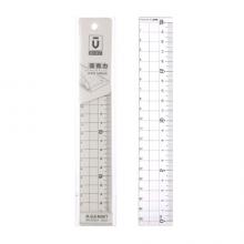 万博manbetx官网(M&G)文具优品系列20cm亚克力直尺学生绘图制图刻度尺子 单把装ARL96267