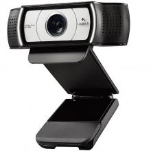 罗技 C930e 摄像头 像素:1500w(单位:个) 黑色