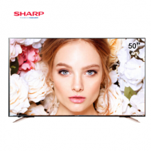 夏普(SHARP)50英寸4K超高清安卓智能液晶电视机歌手版网络平板电视机LCD-50SU578A