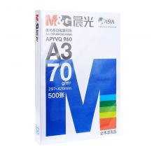 蓝万博manbetx官网多功能复印纸70gA3-4包APYVR960