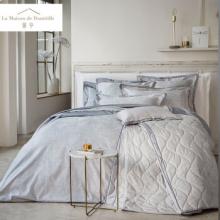 馨亭MCA-008全棉四件套印花叶子双人床单被套枕套帕勒米尔纯棉床上用品