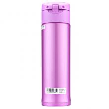 象印保温保冷杯 480ml不锈钢真空户外防漏弹盖直饮水杯子  SM-KB48-VJ