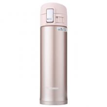 象印保温保冷杯 480ml不锈钢真空户外防漏弹盖直饮水杯子 SM-KB48-PX