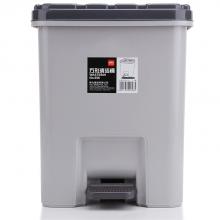 得力956方形清洁桶 垃圾桶(灰)(只)