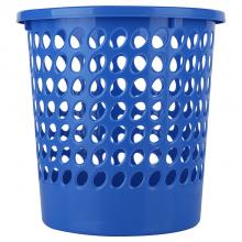 得力 9556 圆形纸篓 直径24cm (单位:只) 蓝