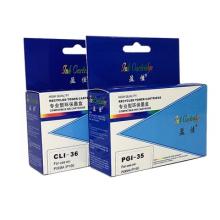 盈佳适彩色墨盒CLI-36C墨盒