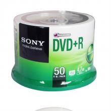 索尼 DVD+R 光盘 50片