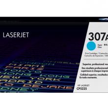 通用耗材 惠普HP CE741A 青色激光打印硒鼓307A