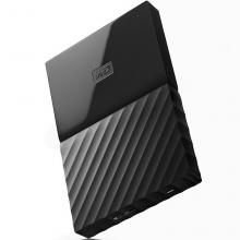 西部数据(WD)My Passport 1TB 2.5英寸 经典黑移动硬盘WDBYNN0010BBK-CESN
