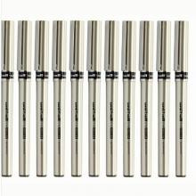 三菱(uni) UB-177 大容量走珠笔 水笔0.7mm(黑色) 12支/盒