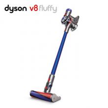 戴森(Dyson) 吸尘器V8 FLUFFY(蓝色)手持吸尘器家用除螨无线